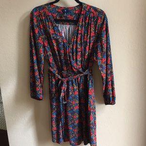 Gap wrap dress